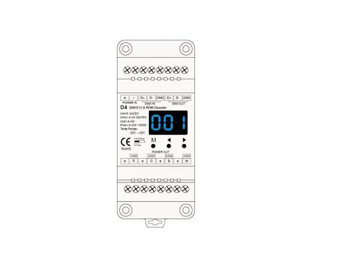 D4-DMX512 Decoder | Dimon Technology